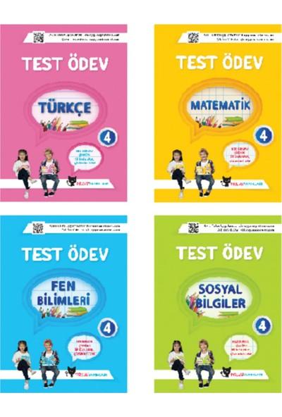 Sadık Uygun Yayınları 4. Sınıf Test Ödev Kitapları