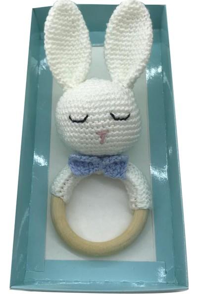 Bereket Oyuncak Çıngıraklı Amigurumi Tavşan