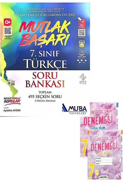 Muba Yayınları 7. Sınıf Türkçe Soru Bankası (Okyanus Denemeli)