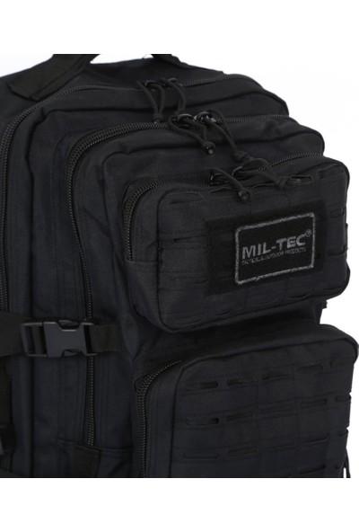 Mil Tec Lazer Kesim Siyah Tactical Askeri 50 Litre Sırt Çantası