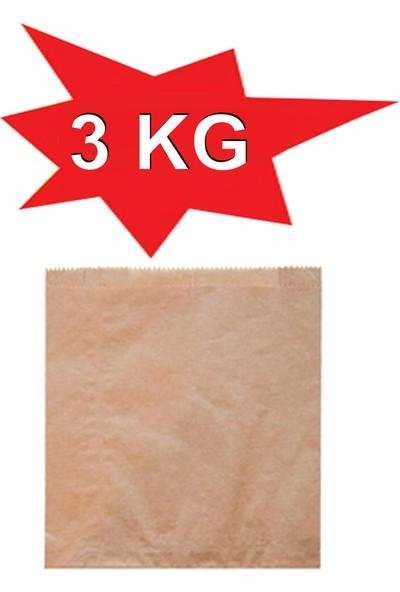 1001 Ambalaj Kese Kağıdı 125 Gramlık Çizgili Baskısız Şamua Kraft 3 kg 12 x 19,5