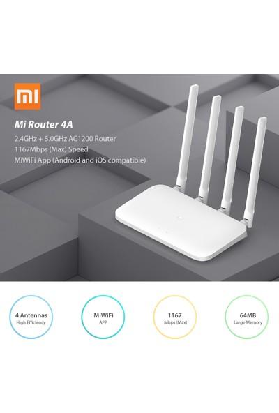 Xiaomi Mi Router 4A Kablosuz Wifi 2.4GHz 5.0GHz Çift (Yurt Dışından)