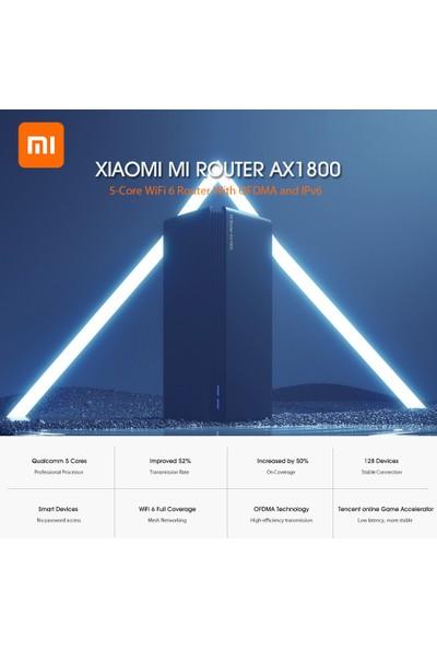 Xiaomi Mi AX1800 Router Qualcomm Beş Çekirdekli Wifi6 2.4GHz ve 5GHz (Yurt Dışından)