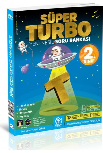 Model Eğitim Yayıncılık 2. Sınıf Süper Turbo Yeni Nesil Soru Bankası