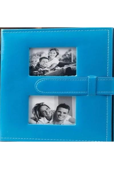 CMF Fotoğraf Resim Albümü 15 x 21 cm (6x8) Deri Kemerli 100'LÜK