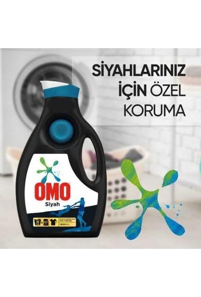 Omo Siyahlar Sıvı Çamaşır Deterjanı 30 Yıkama x 3 (1950 ml x 3)