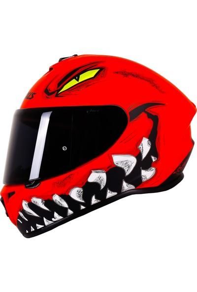 Axxis Draken Forza A5 Matt Red / S