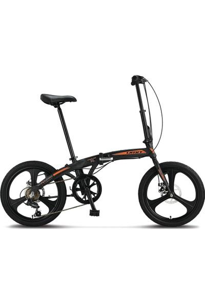 Ümit Bisiklet Ümit 2037 Foldıng Disk Fren Magnezyum Jant 6 Vites Katlanır Bisiklet