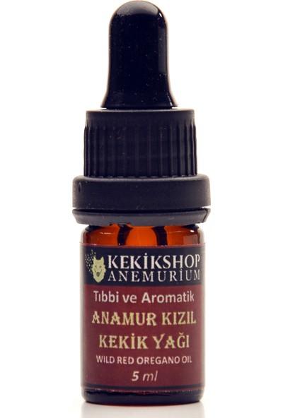 Kekikshop Anemurium Kızıl Karvakrol Kekik Yağı 5ml Yoğun ve Koyu Anamur Kızıl Karvakrol Saf Kekik Yağı