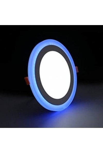 Aral 12+4 W Beyaz+Mavi Çift Renkli LED Panel Armatür