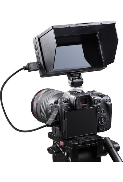 "Godox GM55 5.5""4k HDMI Kamera Üstü Dokunmatik Monitör"