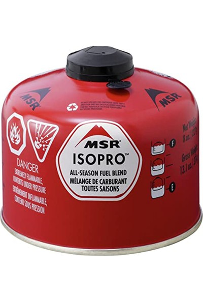 Msr® Isopro™ Fuel 227 gr Kartuş Kırmızı