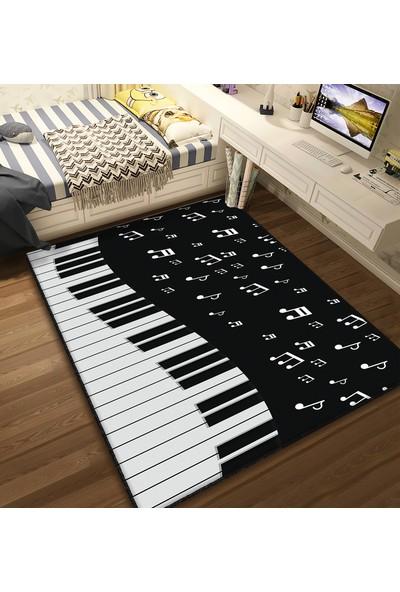 Bebişim BH1381 Piyano Çocuk Odası Halısı