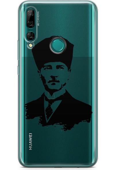 Melefoni Huawei Y9 Prime 2019 için Atatürk Serisi UV Baskılı Silikon Kılıf Ata