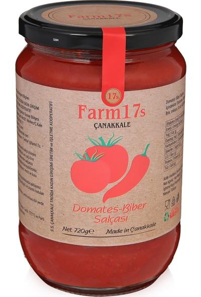 Farm17s Çanakkale Domates - Biber Salçası 720 gr