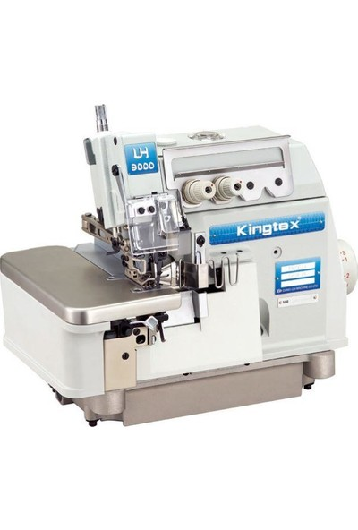 Kingtex UH-9034 Direct Drive 4 İplik Cep Biye Torbası Overlok Makinesi