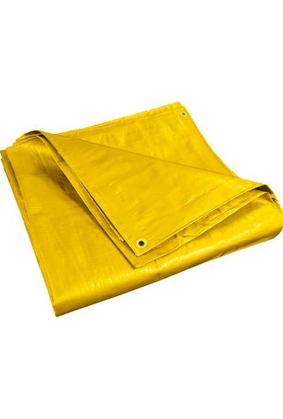 Cn Ticaret Sarı Branda Çadır 4x5 M Su Geçirmez Pvc Tente Gölgelik Koruma