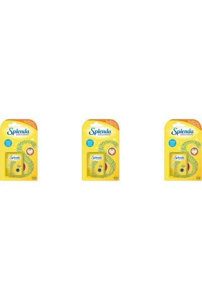 Splenda Tatlandırıcı 500 Tablet 3'lü Paket