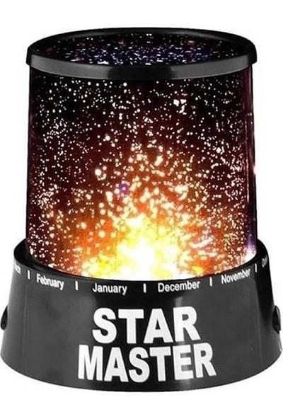 Bbc Star Master Yıldızlı Gece Lambası Tavan Işık Yansıtma Renkli Lamba