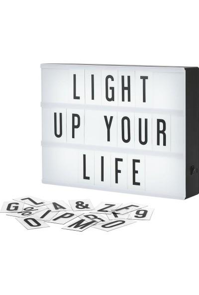 Bbc Lightbox A4 LED Işık Işıklı Mesaj Panosu