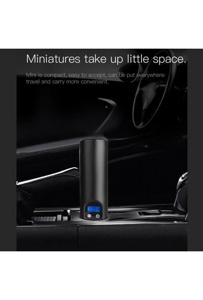 MBW Taşınabilir Akülü Lastik Şişirme Otomatik El Araç Pompası