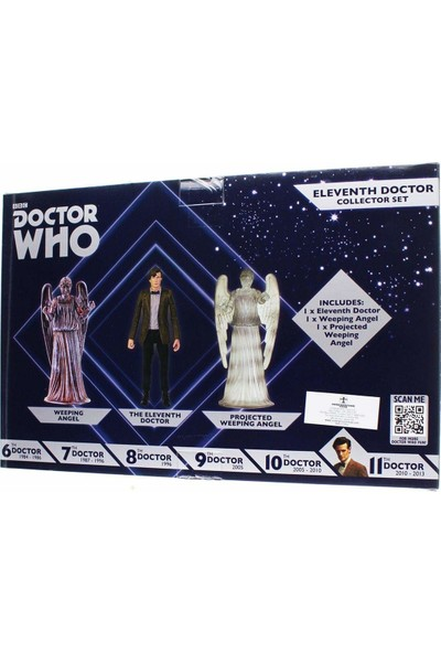 Bbc Doctor Who: 11TH Doctor And Weeping Angels Figür Seti