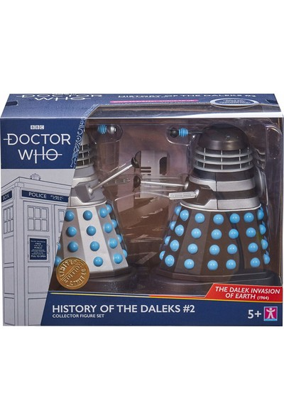 Bbc Doctor Who History Of The Daleks #2 - The Dalek Invasion Of Earth Figür Seti