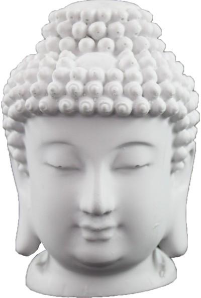 Lumier Buda Figürlü Boyanabilir Dekoratif Ham Polyester