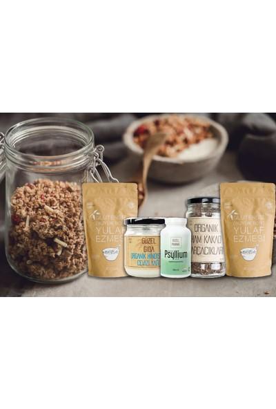 Güzel Gıda Organik Çikolata Parçacıklı Granola Yapım Seti 1,1 kg