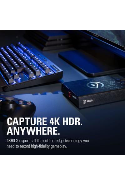 Elgato 4K60 S+ Capture Card Oyun ve Video Yakalama Kartı (Yurt Dışından)