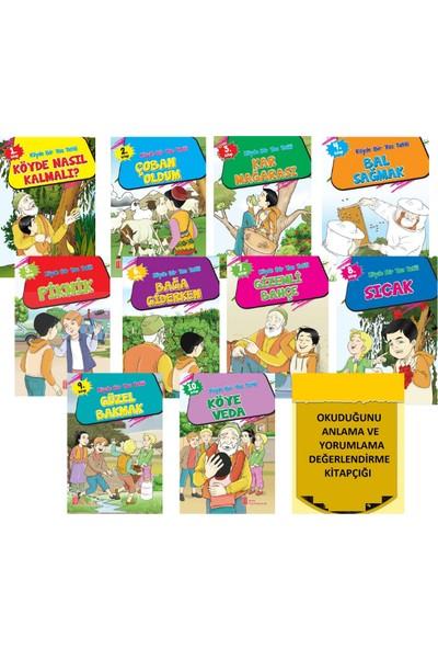 Ata Yayıncılık 1.ve 2. Sınıfların Zevkle Okuyacağı Büyük Boy 10'lu Hikaye Seti+Değerlendirme Testi