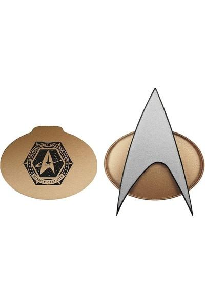Star Trek Tng Bluetooth Iletişim Rozeti Mini Hoparlör (Yurt Dışından)