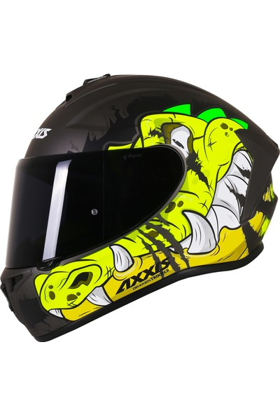 Axxis Draken Trooprt Matt Fluo Yellow / Xxl