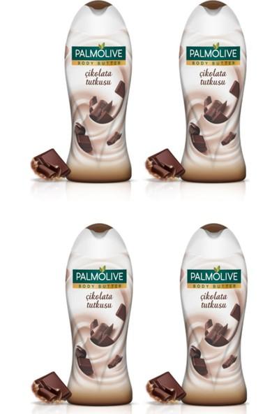 Palmolive Duş Jeli Body Butter Çikolata Tutkusu 500 ml x 4 Adet