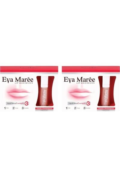 Eva Maree Lip Maximizer 7 ml x 2 Adet
