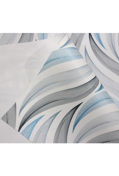 Dede Ev Tekstil Elyaf Silinebilir Pvc Muşamba Masa Örtüsü Dalga
