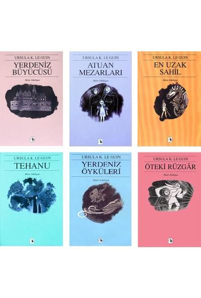 Yerdeniz Serisi 6 Kitap Set Ursula K. Le Guin (Yerdeniz Büyücüsü, Atuan Mezarları, En Uzak Sahil, Tehanu, Yerdeniz Öyküleri, Öteki Rüzgar)