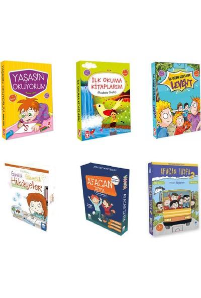 Timaş Çocuk - Mavi Kirpi Yayınları Ilk Okuma 1. Sınıf Kitapları 6 Set 60 Kitap Set (Yaşasın Okuyorum, Ilk Okuma Kitaplarım, Levent Ilk Okuma Kitaplarım, Günlük Güneşlik Hikayeler, Afacan Tayfa 1-2)