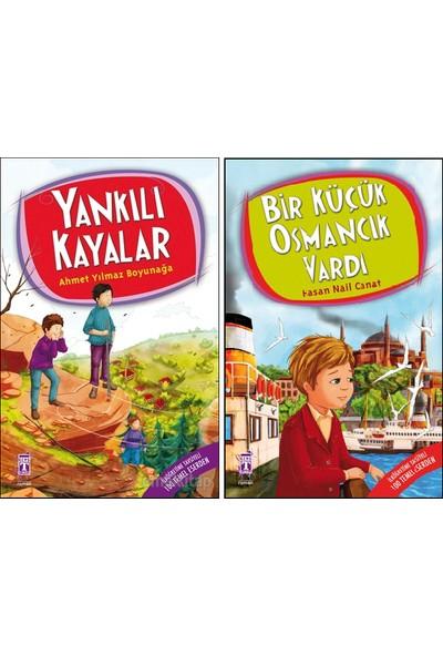 Yankılı Kayalar - Bir Küçük Osmancık Vardı 2 Kitap Set (Ahmet Yılmaz Boyunağa, Hasan Nail Canat)