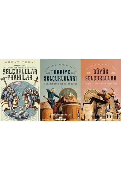 Selçuklu Tarihi 3 Kitap Set (Selçuklular Franklar, Türkiye Selçukluları, Büyük Selçuklular)