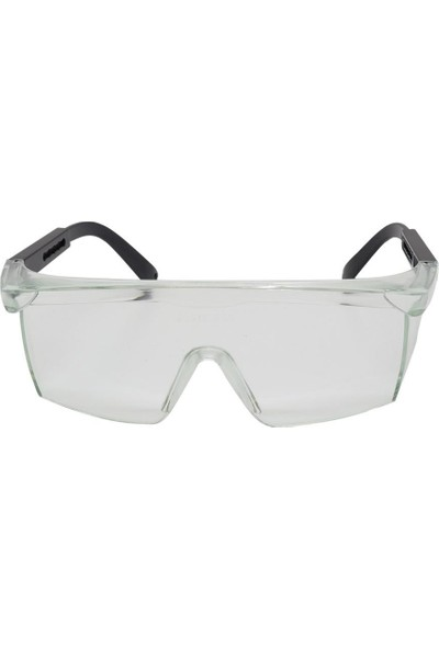 İsg Okulu Baymax S400 Şeffaf Koruyucu Çapak Işçi Gözlüğü