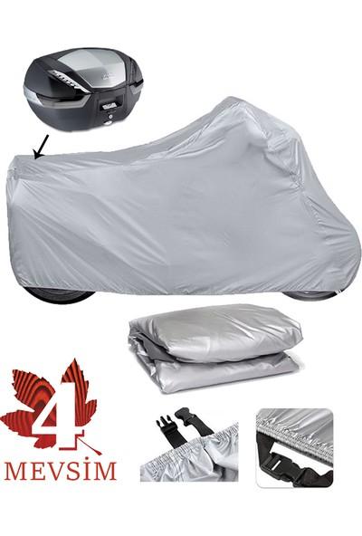 Autoen Asya Nostalji 125 Motosiklet Brandası Arka Çanta Uyumlu