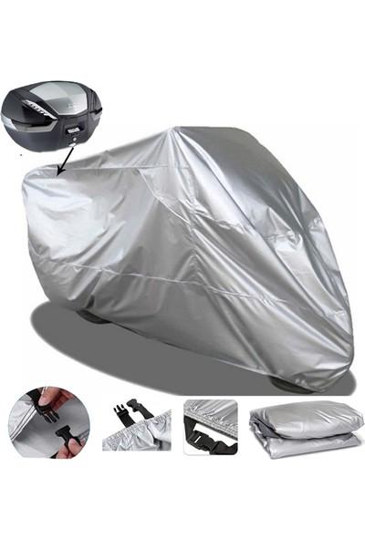 Autoen Arora Cappucino 125 Motosiklet Brandası Arka Çanta Uyumlu