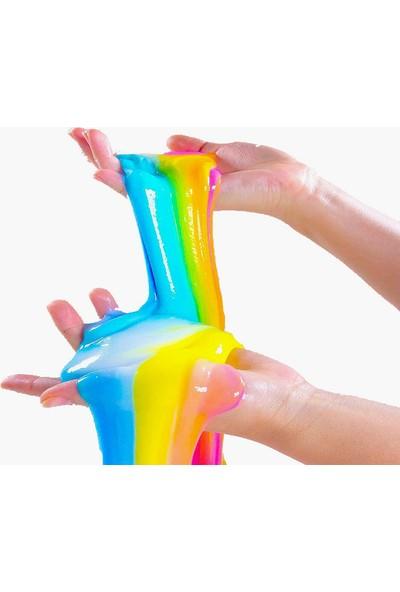 Lansy zıp zıp slime boyasız şeffaf 1 kg + boraks