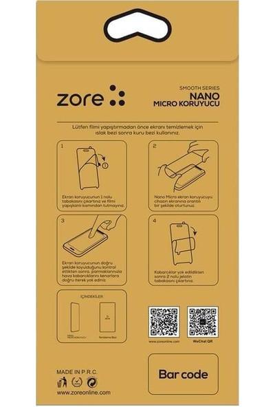 Zore Samsun Galaxy M51 Zore Nano Micro Temperli Ekran Koruyucu