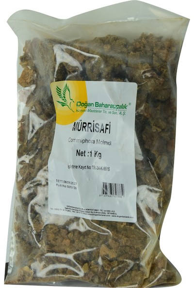 Doğan Baharat Doğal Mürsafi Zamkı 1000 gr Paket
