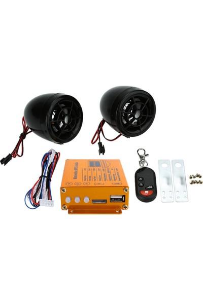Buyfun Motosiklet MP3 Çalar Hoparlörler Ses Sistemi Fm (Yurt Dışından)
