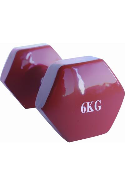 Power 6 kg Vinil - Vinyl Dambıl