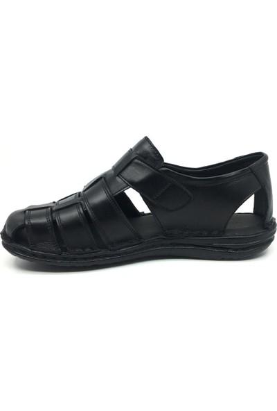 Rota Hakiki Deri Erkek Rahat Hafif Yazlık Terlik&sandalet