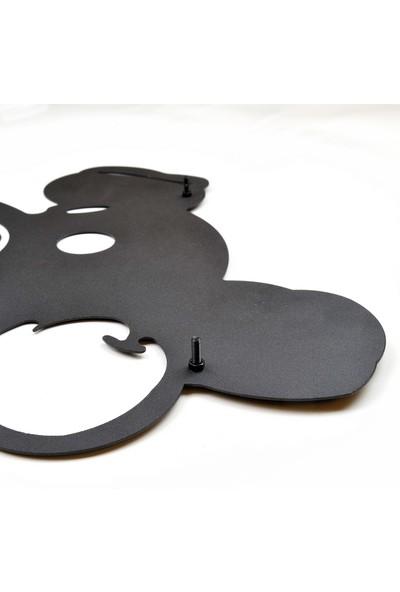 Dfa Dekoratif Kedi Metal Tablo -58X40 cm